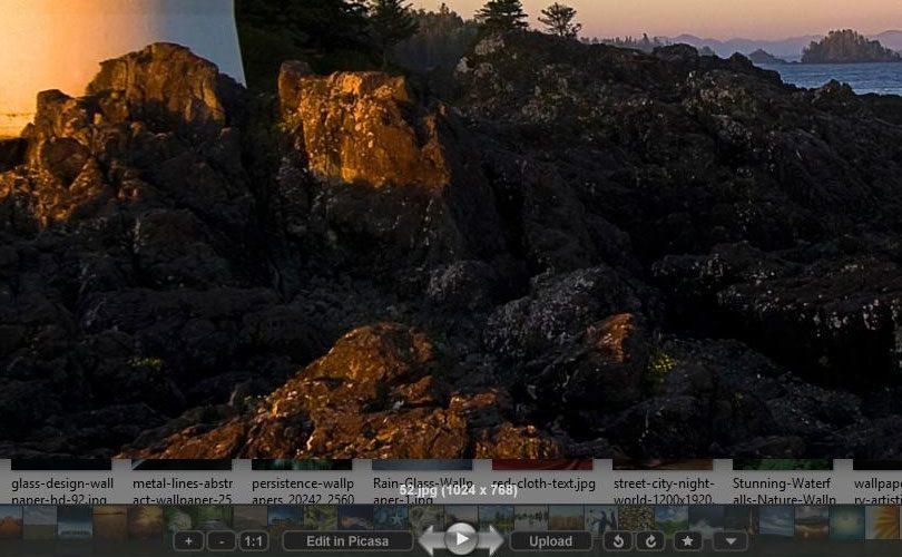 برنامج عرض الصور Picasa