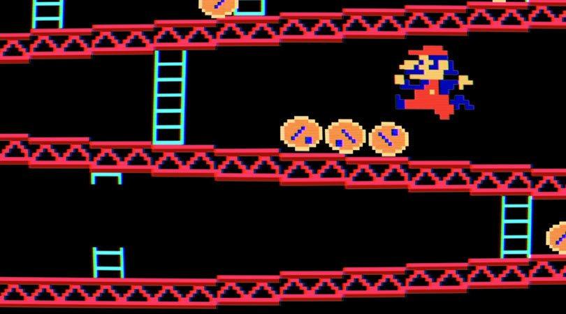 شخصية Jumpman التي تعد أول ظهور لشخصية ماريو قبل تغيير تصميمه