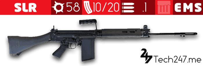 سلاح SLR في لعبة ببجي - لعبة PUBG