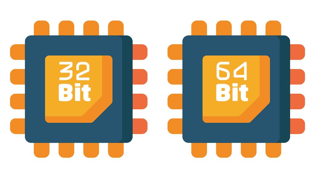 ما هو الفرق بين 32-bit و64-bit (أو x86 وx64) في المعالجات وأنظمة التشغيل؟
