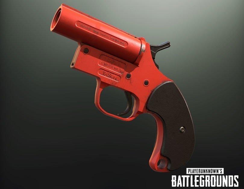 سلاح Flare Gun في لعبة ببجي - لعبة PUBG