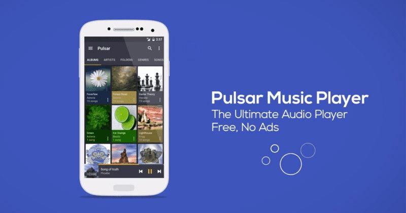 مشغل موسيقى Pulsar