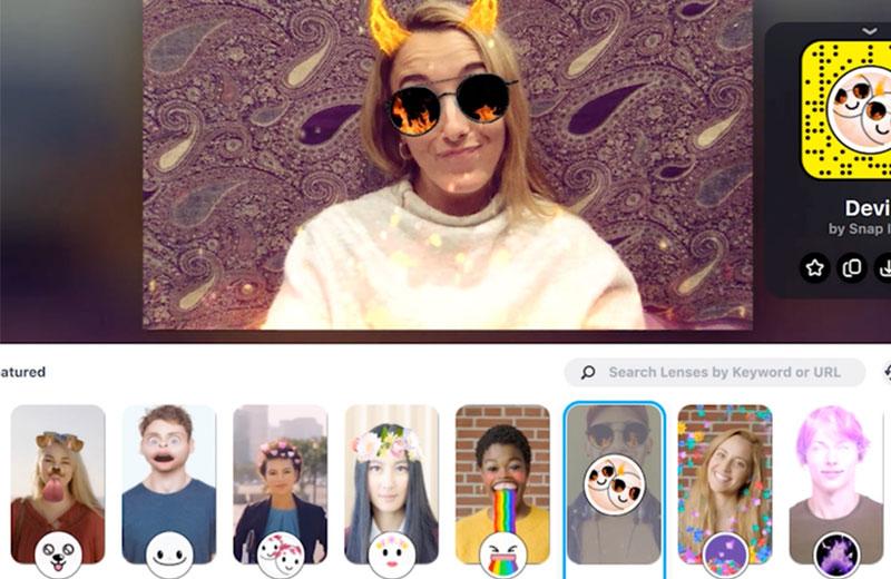 برنامج تصوير Snapchat