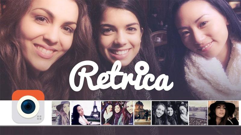 برنامج تصوير Retrica