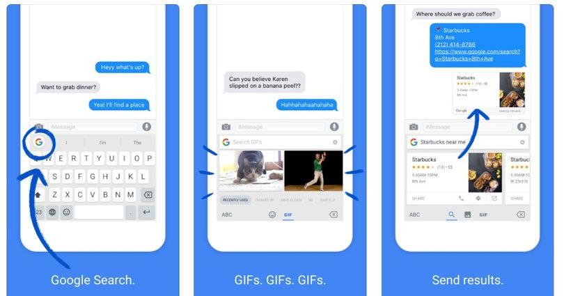 برنامج كيبورد Gboard (أو Google Keyboard)