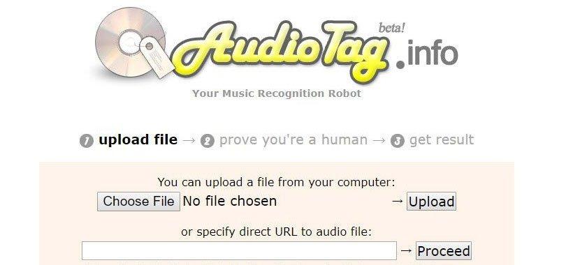 معرفة اسم الاغنية باستخدام AudioTag