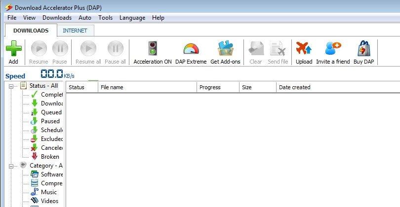 برنامج تحميل Download Accelerator Plus - برنامج تنزيل