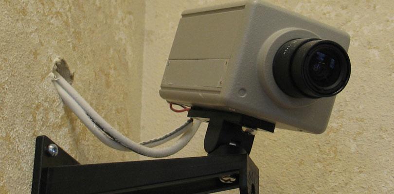 كاميرات المراقبة القديمة