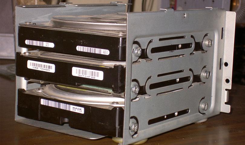 مساحة تخزين لكاميرات المراقبة