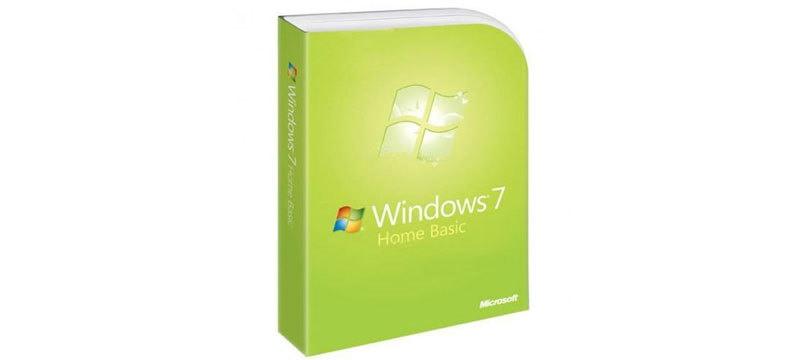 إصدار نظام ويندوز 7 هوم بيزك Windows 7 Home Basic