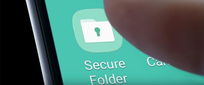 قفل الملفات والصور بالاعتماد على تطبيق Secure Folder