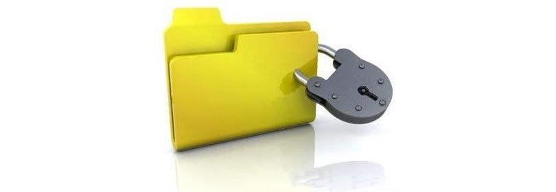 قفل الصور والملفات باستخدام برنامج قفل مستقل