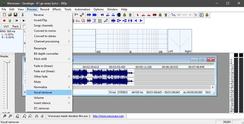 برنامج فصل الصوت عن الموسيقى للكمبيوتر