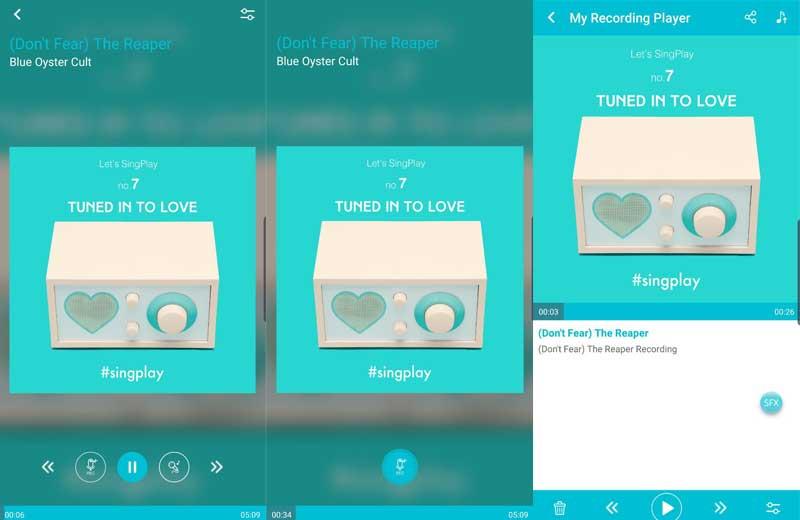فصل صوت المغني عن الموسيقى باستخدام تطبيق SingPlay