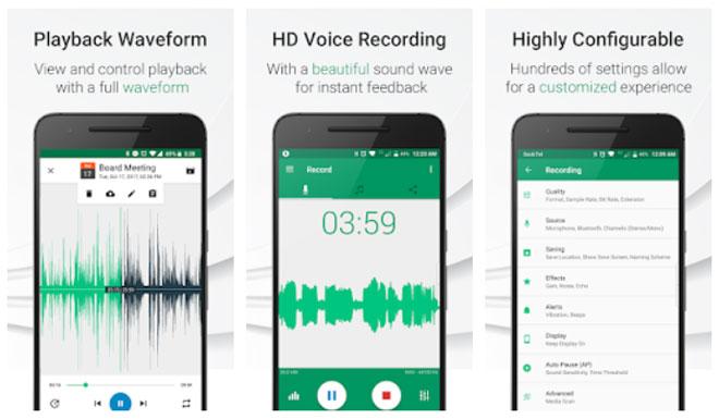 برنامج مسجل الصوت / تسجيل الصوت Parrot