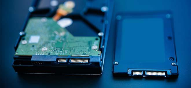 تسريع الكمبيوتر باستخدام SSD بدلاً من قرص صلب