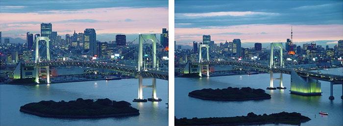 الفرق بين كاميرا عادية وكاميرا ذات زاوية عريضة
