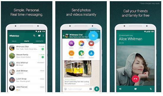 برنامج WhatsApp - برامج الدردشة