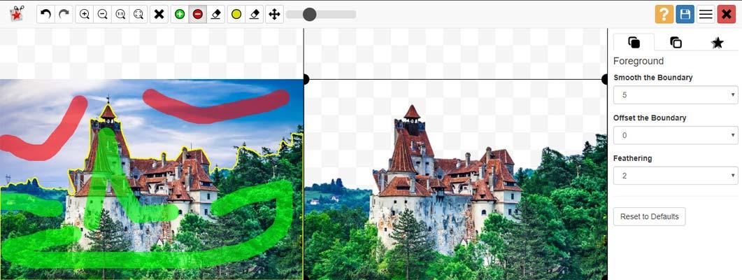 موقع تغيير خلفية الصورة