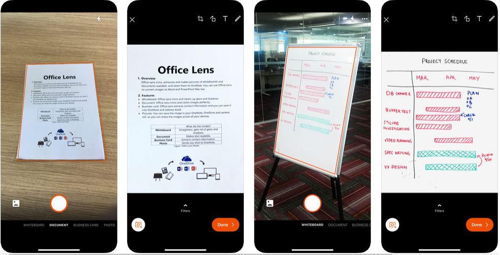 برنامج سكانر Office Lens