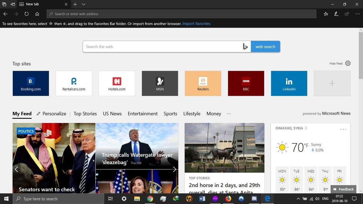 متصفح Microsoft Edge - متصفح