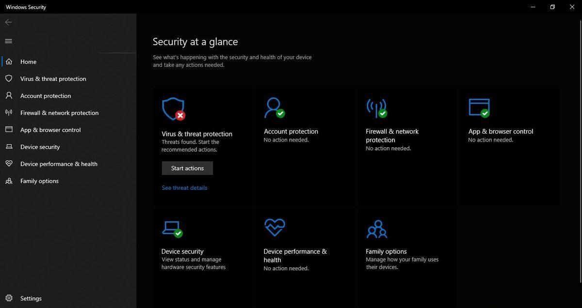 مضاد الفيروسات Microsoft Defender