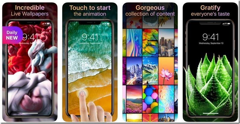 تطبيق Live Wallpapers Now