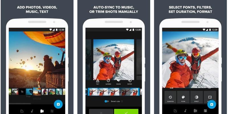 تطبيق Quik - تحرير الفيديو