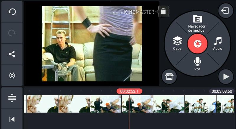 برنامج KineMaster - أفضل برنامج تصميم الفيديو