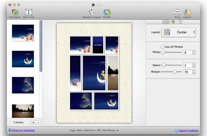 تطبيق دمج الصور CollageIt - تجميع الصور