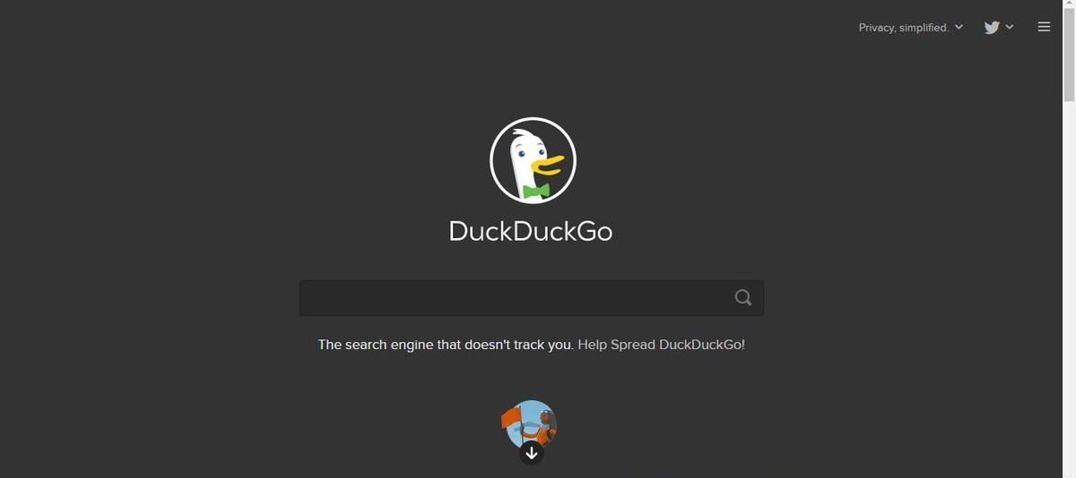 محرك بحث DuckDuckGo