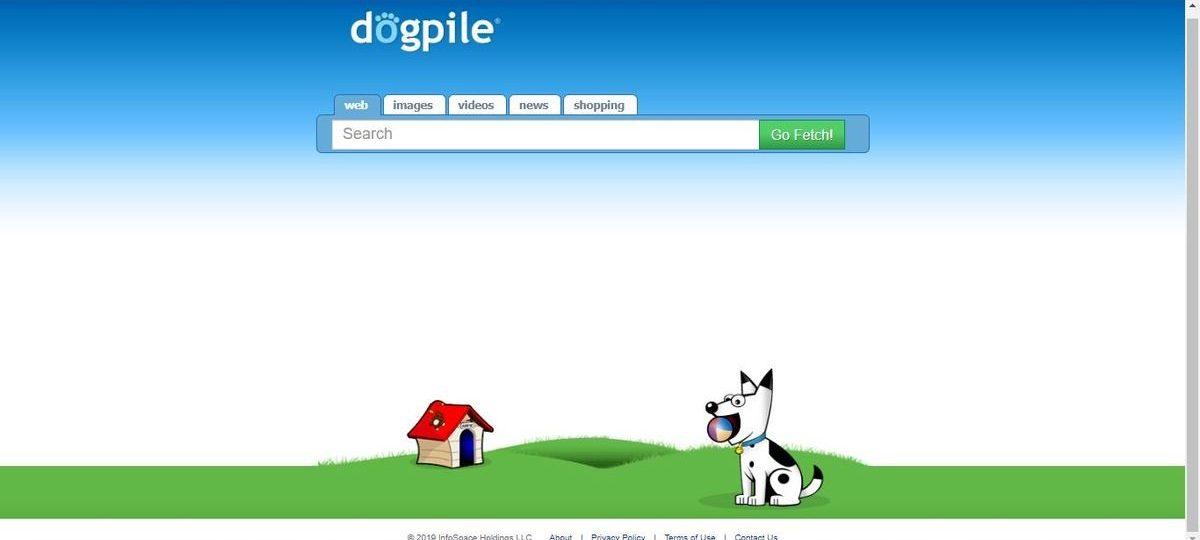 محرك بحث Dogpile
