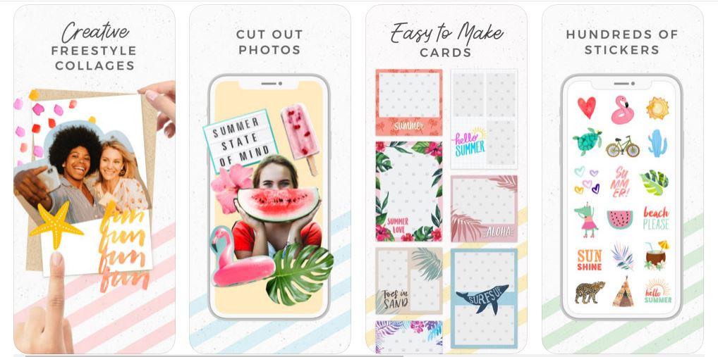 تطبيق Pic Collage - دمج الصور