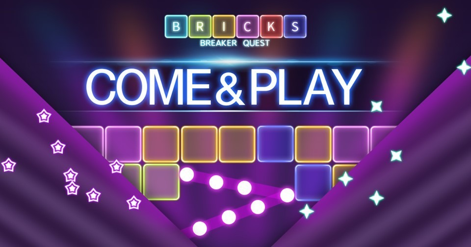 لعبة Bricks Breaker Quest