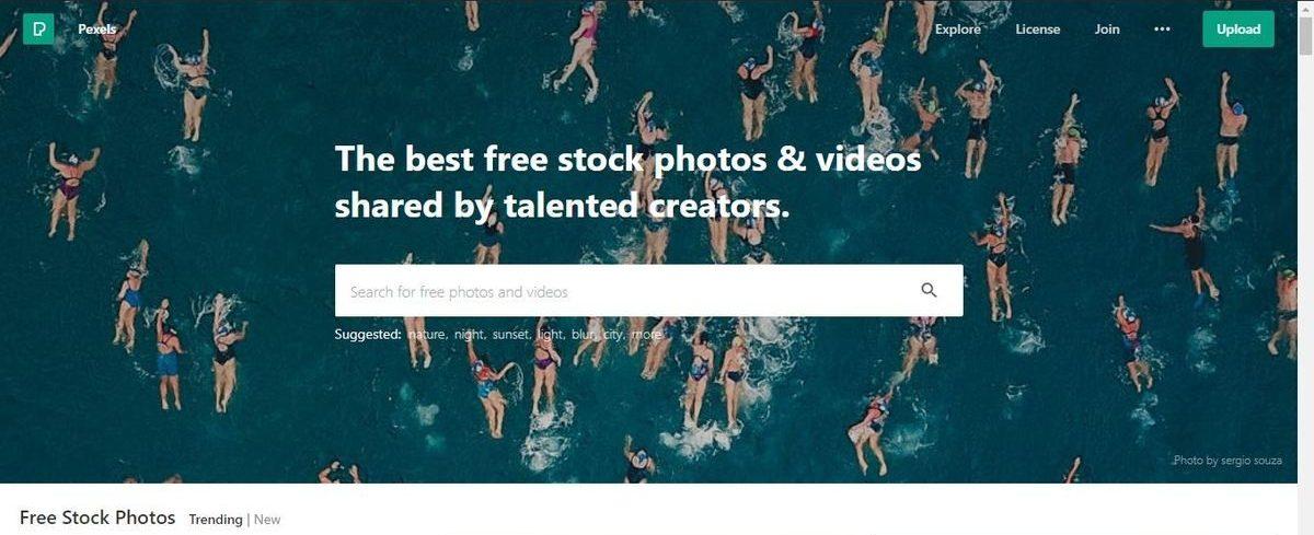 موقع Pexels - صور احترافية
