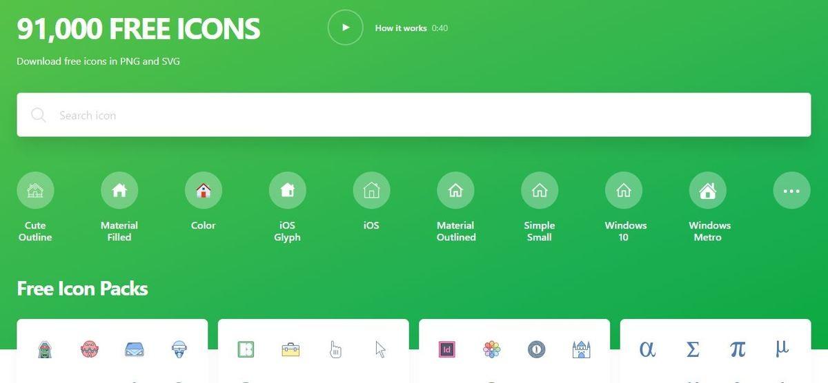 موقع Icons8 - أيقونات ورموز