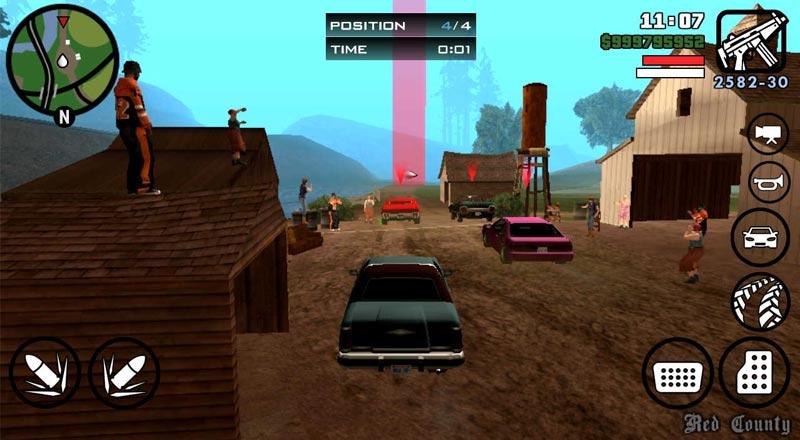 لعبة GTA San Andreas - ألعاب قديمة من مطلع الألفية