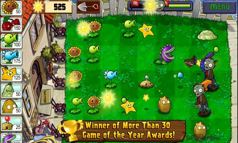 لعبة Plants Vs. Zombies - ألعاب قديمة من مطلع الألفية