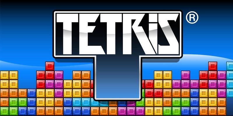 لعبة Tetris - ألعاب قديمة من الثمانينيات