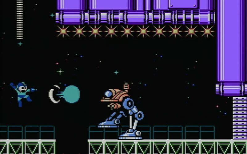 لعبة Mega Man- ألعاب قديمة من الثمانينيات