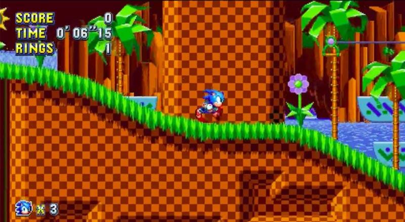 لعبة Sonic - ألعاب قديمة من التسعينيات