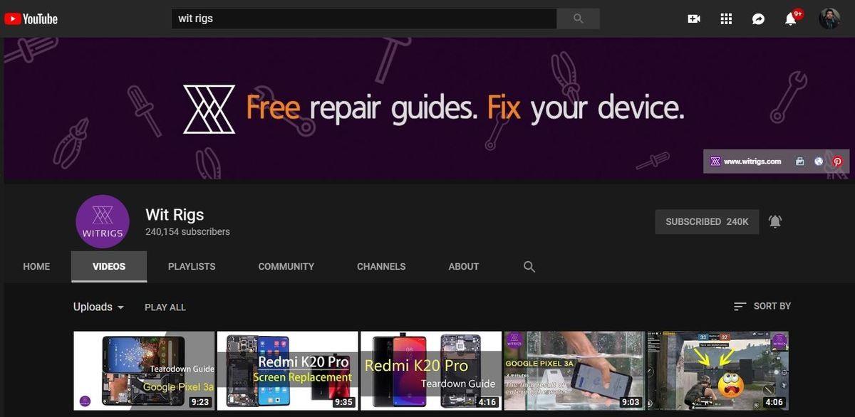 موقع YouTube
