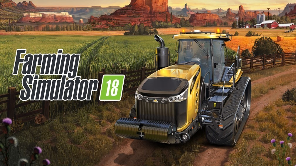 لعبة Farming Simulator 18