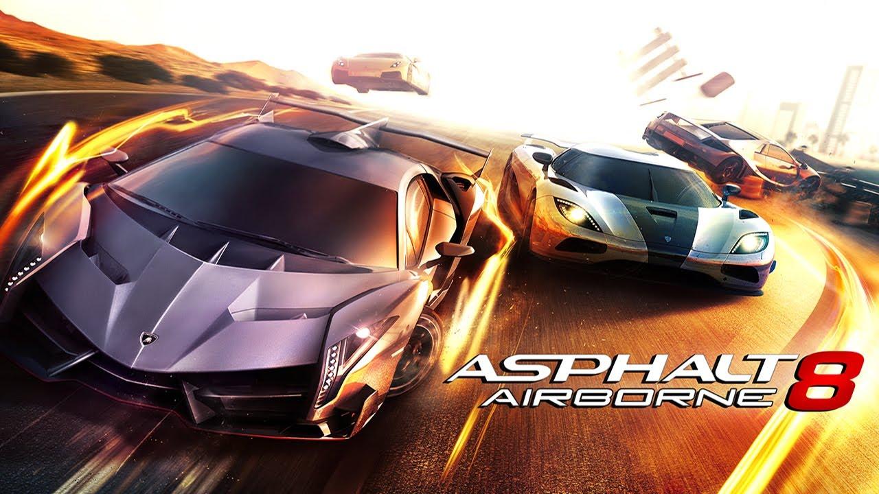 لعبة Asphalt 8: Airborne - ألعاب بدون نت