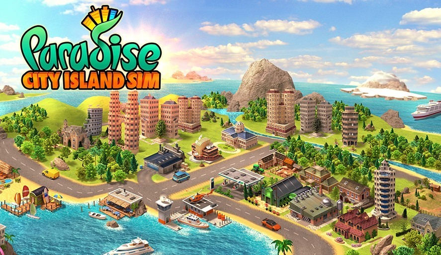 لعبة Paradise City: Island Sim Bay