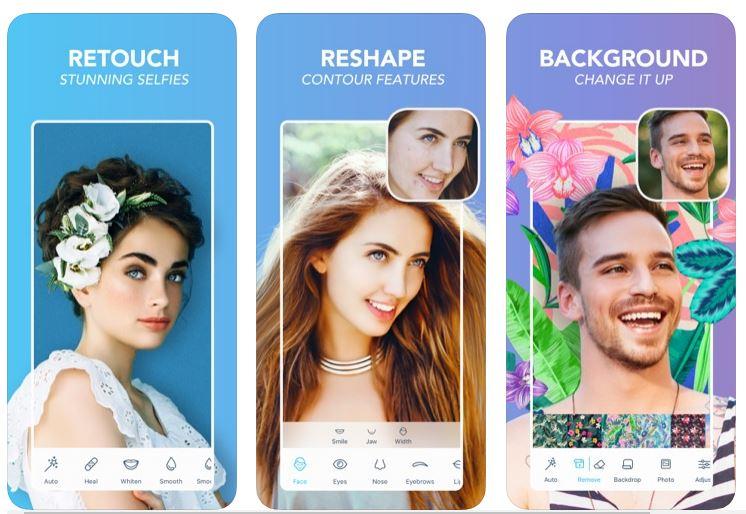 تطبيق تجميل الصور FaceTune2