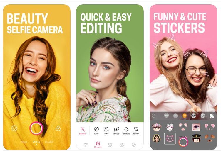 تطبيق تجميل الصور BeautyPlus