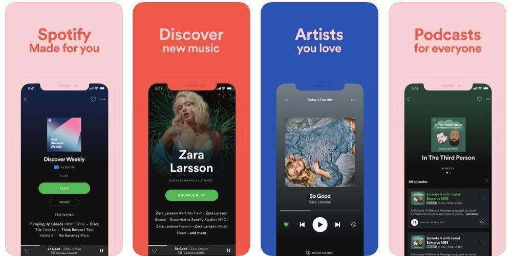 برنامج سبوتيفاي (Spotify)