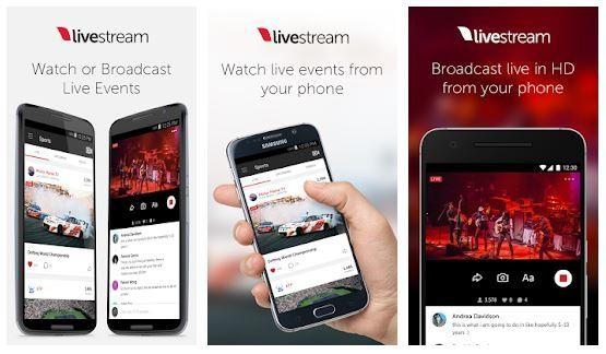 برنامج Livestream - برنامج بث مباشر