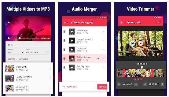 برنامج Video to MP3 Converter من المطوّر InShot - إزالة الصوت من الفيديو